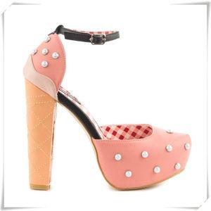 ♡ Iron Fist ♡ Peaches & Cream heels